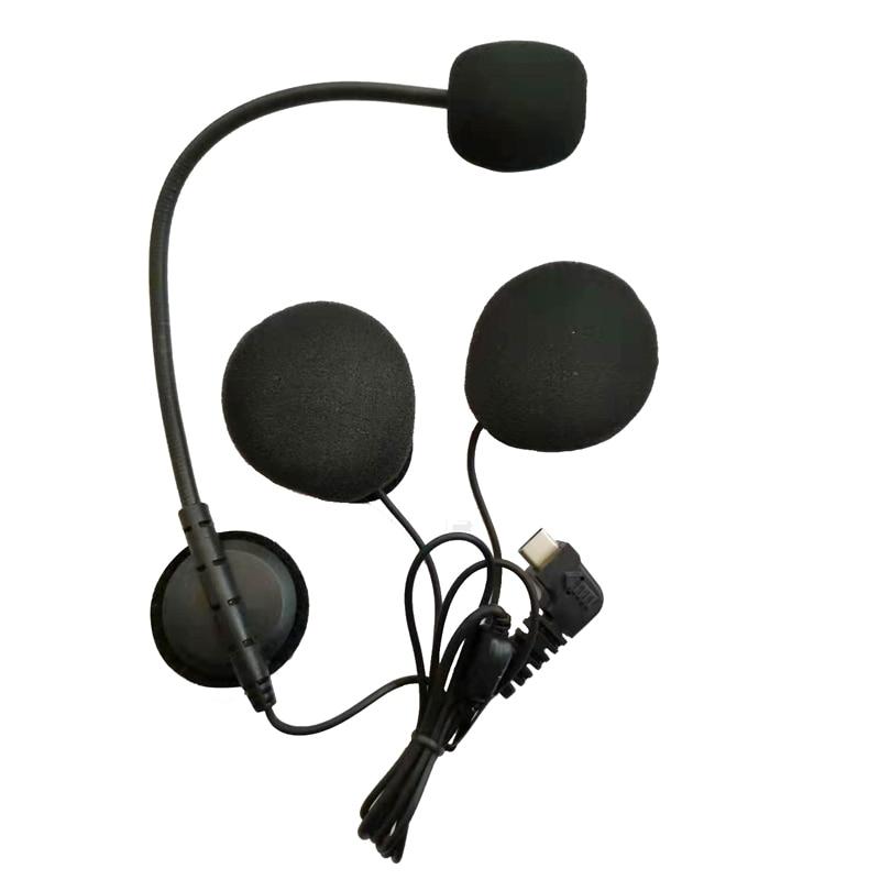Image 5 - BT S3 1200M Motorcycle Bluetooth Helmet Headsets Intercom for  Riders Wireless Intercomunicador Interphone MP3 FMHelmet Headsets   -