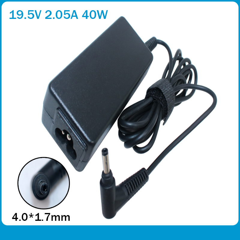 Laptop AC Adapter 19.5V 2.05A 40W Bullet Head Charger For HP Mini 210 210 110 HSTNN-DA18 622435-003 624502-001