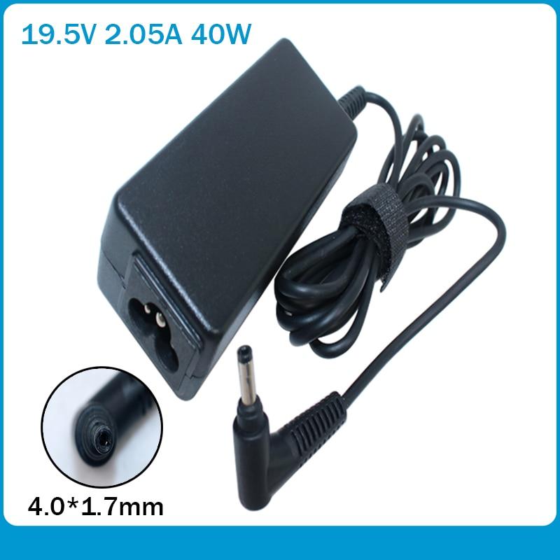 Laptop AC Adapter 19.5V 2.05A 40W Bullet Head Charger For HP Mini 210 210 110 HSTNN-DA18 622435-003 624502-001