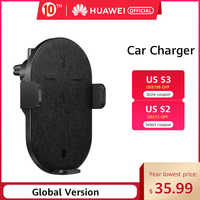 In stock Original HUAWEI Wireless Car Charger 27W SuperCharge Fast Wireless Charger Support for Android IOS