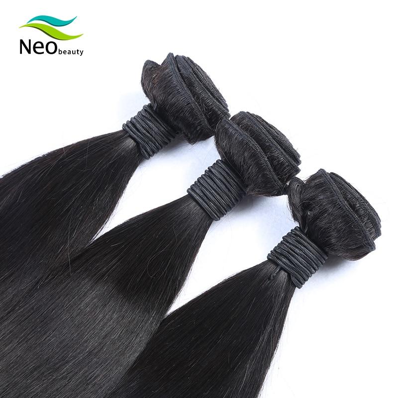 10A 10-40 Inch Peruvian Hair Weave Bundles Straight 100% Human Hair 1/3/4 Bundles Natural Color Virgin Human Hair Extensions