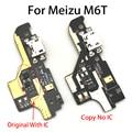 Neue USB Lade Port Bord Flex Kabel Dock Connector Kompatibel Für Meizu M6T 6T|Handy-Flex-Kabel|Handys & Telekommunikation -
