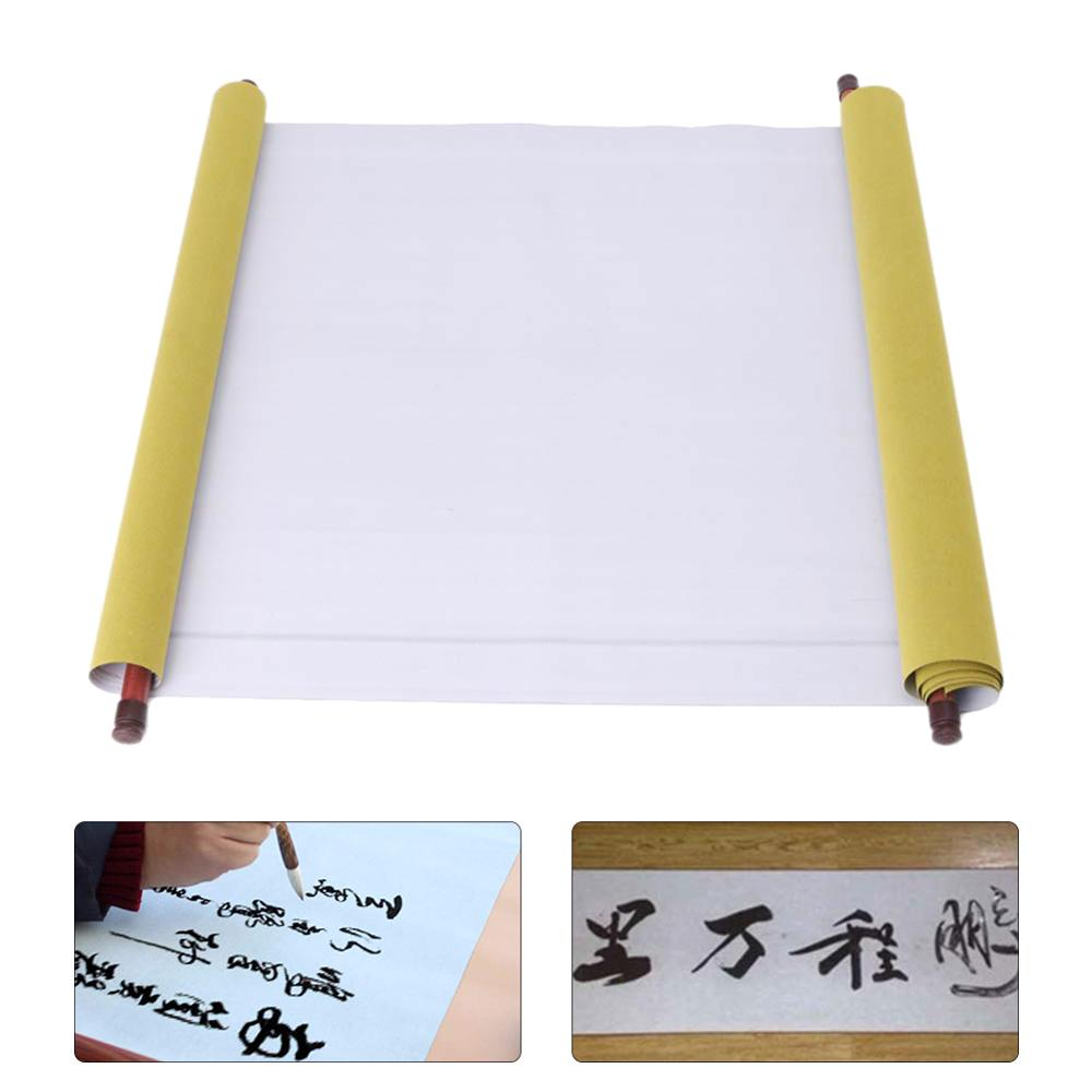 Reusable Magic Water Writing Cloth Chniese Calligraphy Pratice Painting Scroll