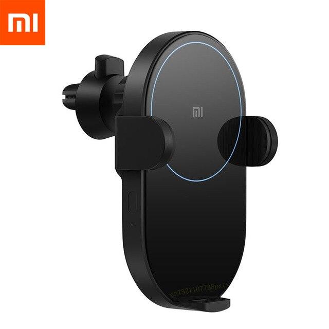 Xiaomi Mi 20W/Max 10W Không Dây QI Sạc Xe Hơi WCJ02ZM Tự Động Kẹp Với Cảm Biến Hồng Ngoại Thông Minh Nhanh sạc Giá Đỡ Điện Thoại Ô Tô