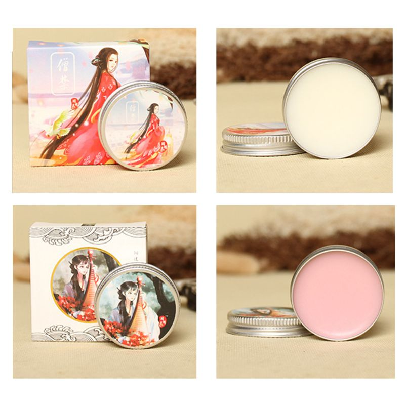 Fresh Elegant Ancient Style Balm Solid Perfume Men Women Light Fragrance Students Body Cream