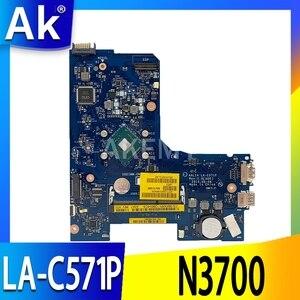 FÜR 15 5000 5552 CN-0F77J1 0F77J1 LA-C571P ALL14 DDR3L SR29E N3700 CPU laptop Motherboard 100% Getestet OK