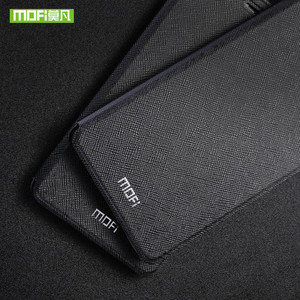 Image 5 - Mofi For Huawei honor 10 case cover honor V10 case leather silicon TPU back thin metal cover Case for Huawei honor note 10 Shell