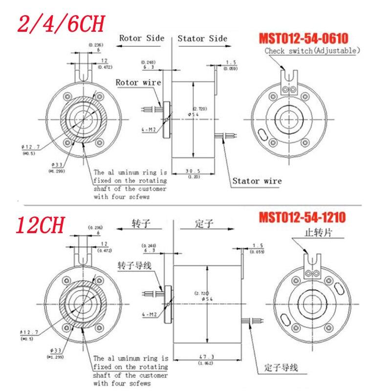 1pc diametro do furo 127mm anel deslizante 02