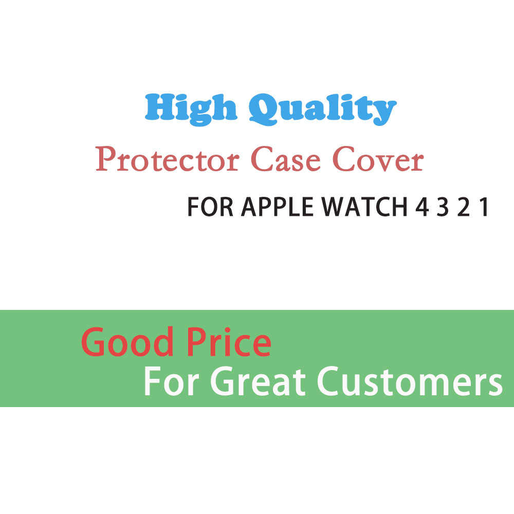Slim TPU Screen Protector For Apple Watch case 360 Degree Soft Clear Case for iWatch 4 3 2 1 case apple 4 40mm 40mm 38mm 44mm