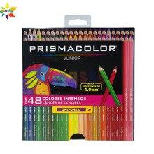 Eua 12 15 24 36 48 cor original prismacolor júnior lapis de cor sanford zero alunos iniciantes básicos pintura lápis conjunto oleoso