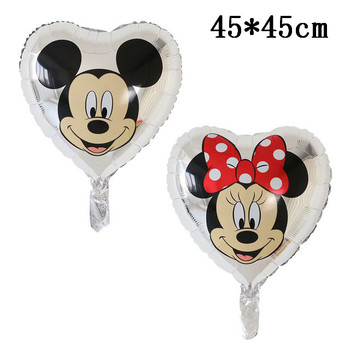 Giant Mickey Minnie Mouse Balloons Disney cartoon Foil Balloon Baby Shower Birthday Party Decorations Kids Classic Toys Gifts 28