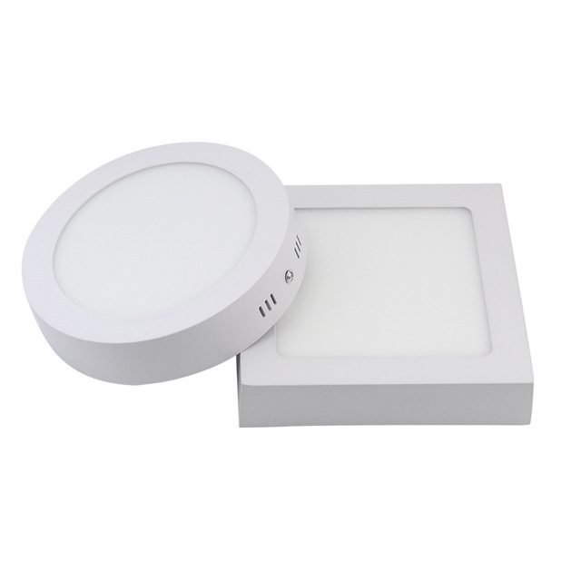 9W 15W 25W 30W Round Led Panel Light Surface Mounted Leds Downlight Ceiling Down 85-265V Lampada Led Lamp With LED Driver