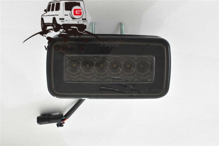 rear bumper LED W463 (4)
