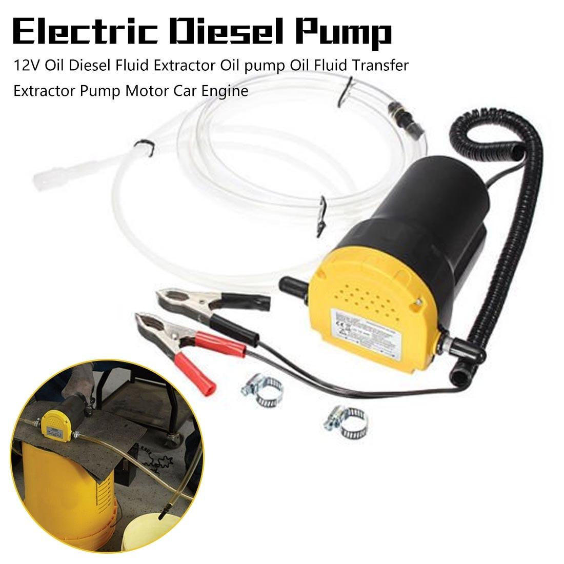 Автомобильный двигатель масляный насос 24 V, 12V электрический масло/дизель жидкости отстойник Extractor Scavenge обмен топливоперекачивающий насос, ...