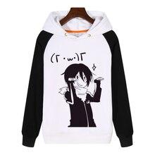 Unissex homens mulheres anime noragami yato algodão hoodie casaco camisolas trajes cosplay