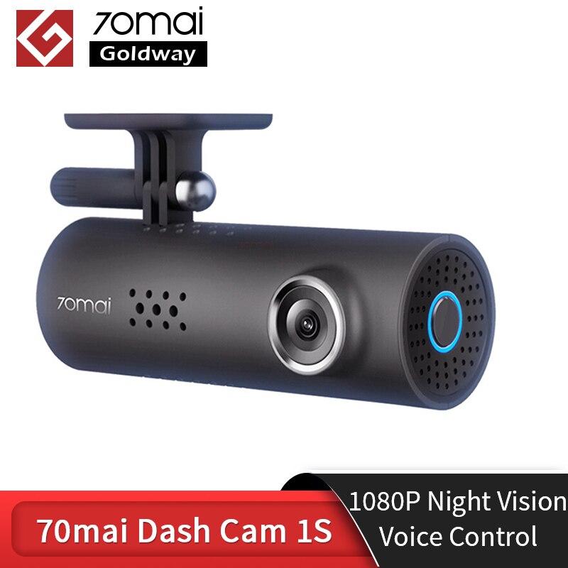 70mai Dash Cam 1S 1080P Volle HD Nachtsicht 130 FOV Wifi APP Englisch Voice Control-Auto DVR 70 Mai 1S Dash Kamera Auto-Recorder