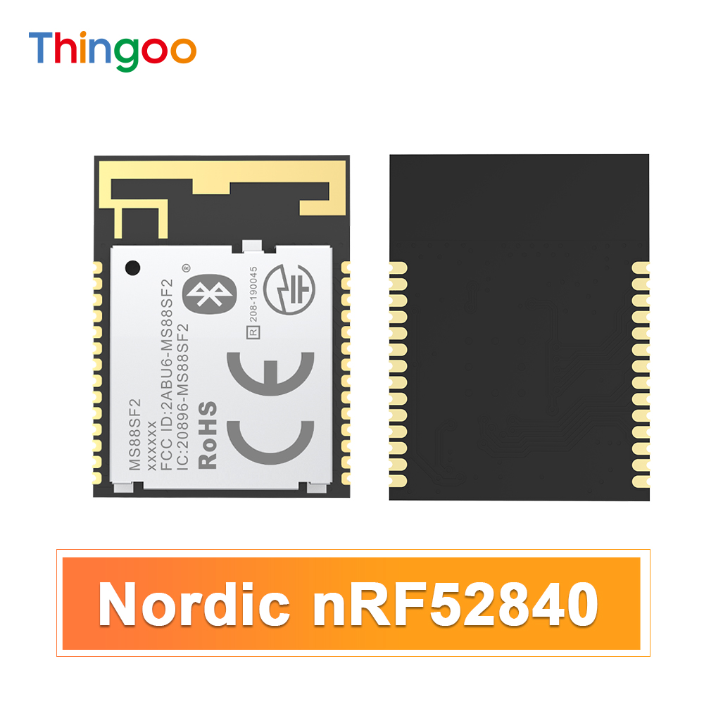 nRF52840 BLE Bluetooth Serial Port Module Nordic Power Consumption Door Opening BLE Data Transmission Cycle computer