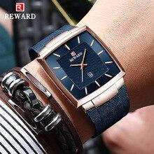 Relogio Masculino 2020 Herren Uhren Top Brand Luxury Business Großen Männlichen Armbanduhr Wasserdicht Minimalistischen Quadratische Uhr Männer 2020