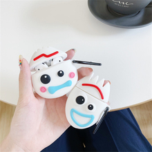 3D Cute Cartoon Toy Story Fokry earphone Cases For Apple Airpods 2 1 Silicone Protector Cover Accessories Potato couple