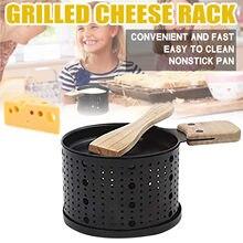 Não-vara grelhador mini placa de queijo para churrasco forno de queijo cozido mini placa de queijo para churrasco forno de queijo cozido suprimentos de cozinha