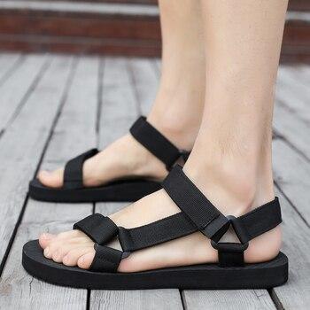 AODLEE Summer Men Sandals Gladiator Beach Casual Shoes Men Slippers Sport Water Flip Flops Sandalia Masculina Zapatos De Hombre