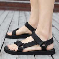 Aodlee verão homens sandálias gladiador praia sapatos casuais chinelos esporte água flip flops sandália masculino zapatos de hombre