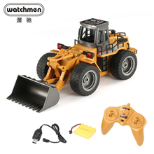 HuiNa 1520 RC Car 6CH 1/18 Trucks Metal Bulldozer Charging R