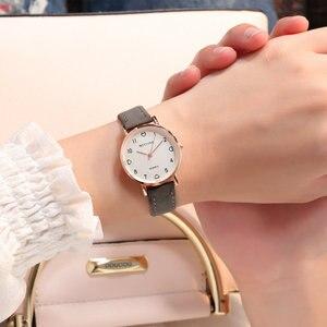 Image 1 - Simple Watch Women Watch Leather Fashion Casual Quartz Wrist Watch Ladies Watch Female Clock relogio feminino reloj mujer