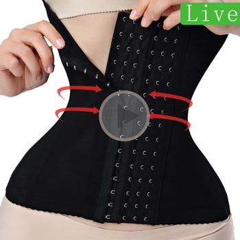 waist trainer binders shapers modeling strap corset slimming Belt underwear body shaper shapewear faja slimming belt tummy women