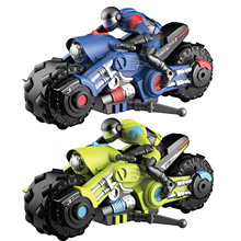 Toys Motorcycle Racing Stunt Drone for Kid Land-Air Fly Four-Axis Mode 2-In-1 360
