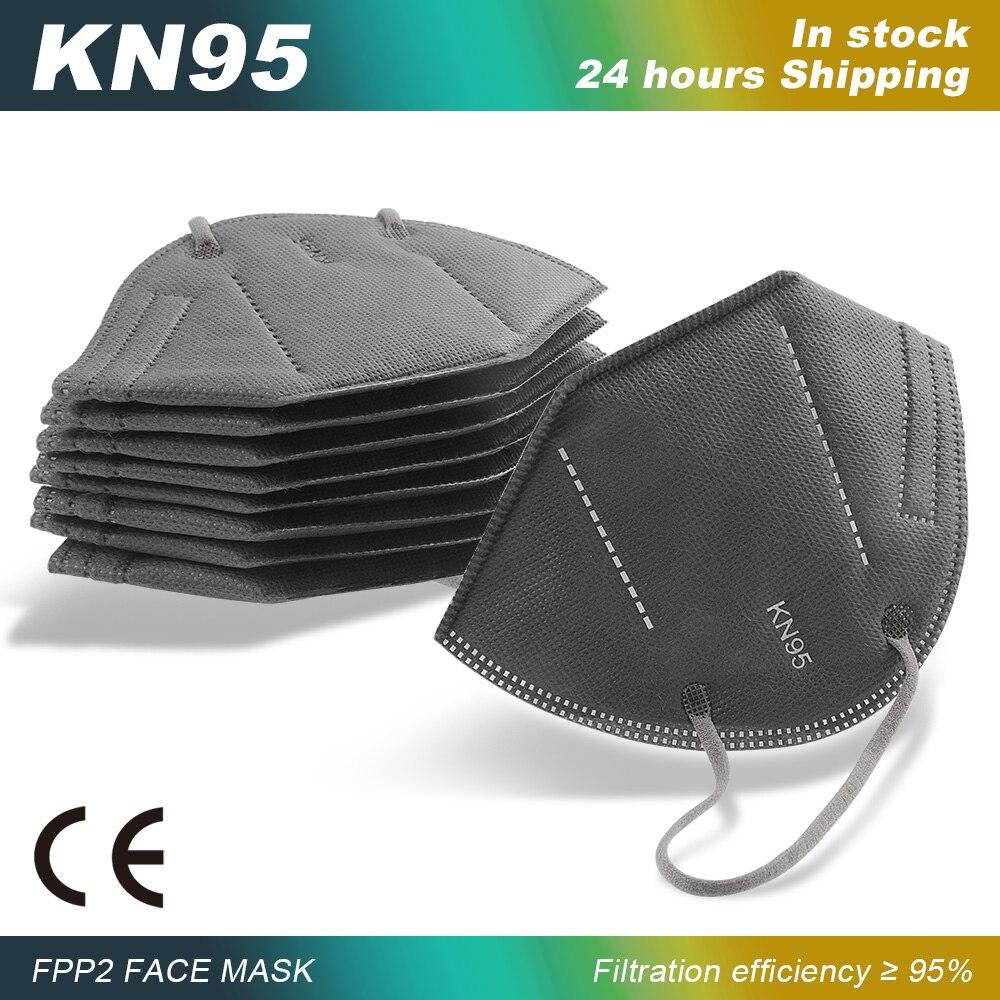 FFP2mask Reusable Mask KN95 Mascarillas Mondkapjes KN95 Masque Protection Mascarilla FFP2 KN95 Respi