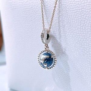 Горячая Распродажа 925 пробы серебро аист и мерцающие звезды с позолоченным кольцом, подходят к оригинальным браслетам Pandora, брелоки, S925 Серебряные ювелирные изделия подарок|Бусины|   | АлиЭкспресс