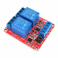 2 channel relay module with optocoupler isolation 2 way 5V/9V/12V/24V relay Support high and low level trigger development board