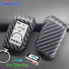 Car Key Cover Case Bag Styling Accessories For Starline A93 A63 Russian Version Two Way Car Alarm LCD Remote Control Keychain