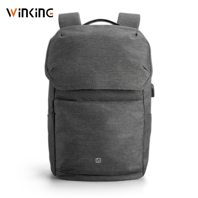 Kingsons 15.6 Inch Laptops Backpacks External USB Charging Computer Backpacks Anti theft Waterproof Bags for Men Women New style