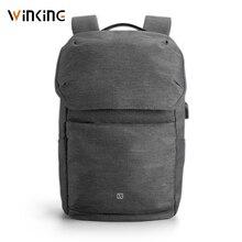 Kingsons mochilas para ordenadores portátiles de 15,6 pulgadas, morrales de carga externa de ordenador mediante USB, antirrobo, impermeables, para hombres y mujeres, nuevo estilo