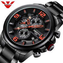 NIBOSI hommes montre Reloj Hombre 2018 hommes montres haut marque de luxe montre à Quartz grand cadran Sport étanche Relogio Masculino Saat