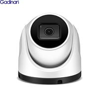 Gadinan 4K 8MP SONY IMX415 POE IP Camera P2P Outdoor Audio Dome Video SD Card Slot 2.8mm ONVIF Surveillance Metal CCTV Camera