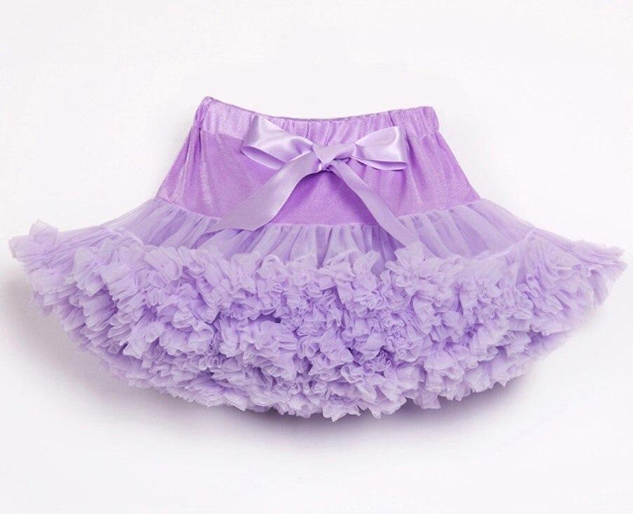 Пышные юбочки для девочек; летняя одежда для девочек; юбка-пачка; Одинаковая одежда для мамы и дочки; юбка для танцев для девочек - Цвет: Лаванда