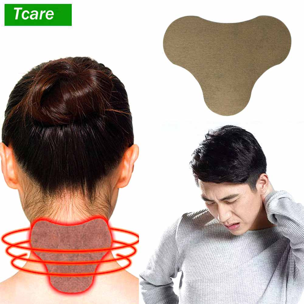 20Pc/Set Wormwood Relief Patch For Cervical Vertebra Natural Herb Pain Relief Patch Spontaneous Heat Sticker Relieve Muscle Pain