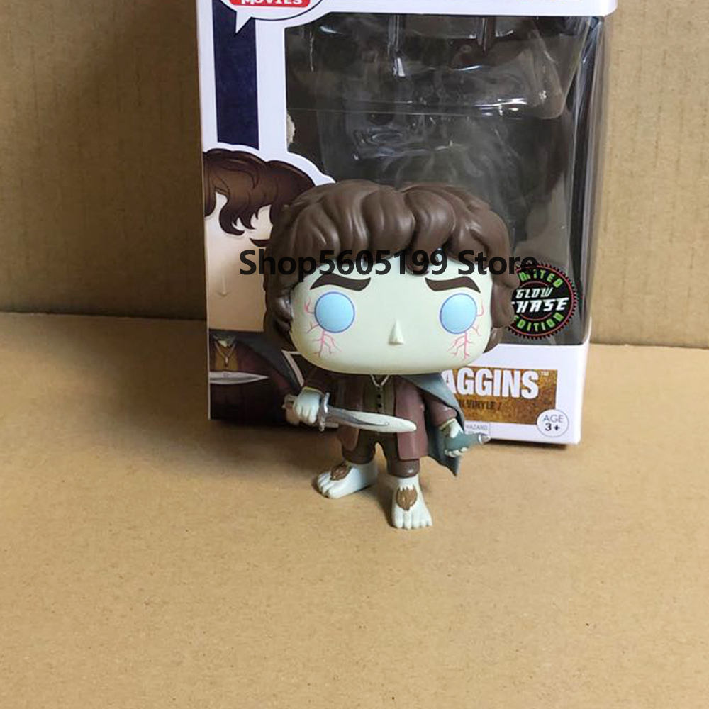 FRODO BAGGINS #444 with box Vinyl Action Figures POP Collection Model Toys for Children Birthday gift|Action & Toy Figures| - AliExpress