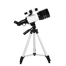 Teleskop astronomiczny 70mm 150X luneta luneta luneta z 5 × 24 Finder statyw filtr księżycowy 3X soczewka barlowa tanie tanio CN (pochodzenie) NONE as shown Astronomical Telescope Monokularowy Załamania światła