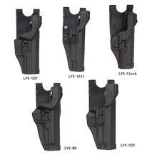 Тактический Военный Пистолет Кобура Правая рука поясной ремень