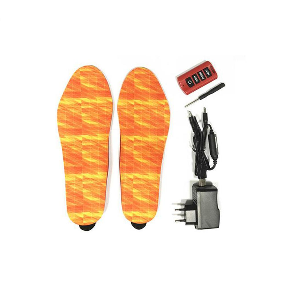 MeterMall Electric Heating Insole Bluetooth Remote Control Heating Insole USB Rechargeable Winter Warm Heating Insoles in Insoles from Sports Entertainment
