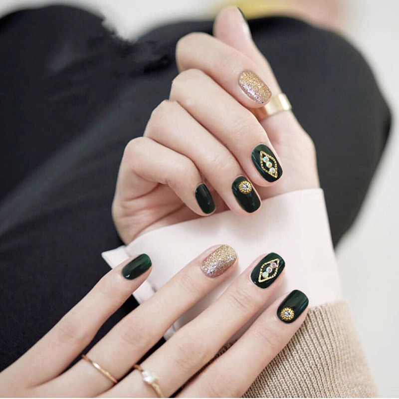 Fake Nails Stickers Women's Bride Manicure Patch Disassembly Marriage Wearable Pregnant Women 2018 New Style Online Celebrity Na