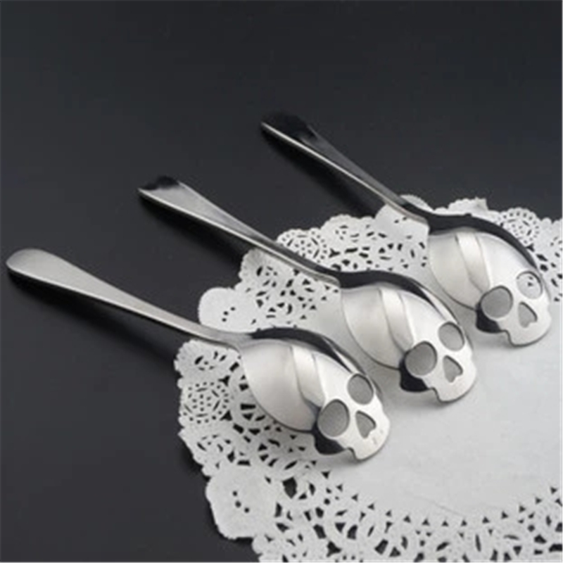 Skull Tea Spoon 2
