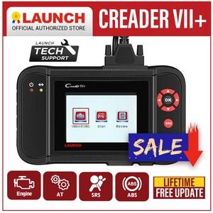 Image 1 - Launch X431 Creader VII Plus VII+ Auto Code Reader OBD2 OBD 2 Scanner Launch CRP123 OBDII Diagnostic Tool Automotive Scan Tool