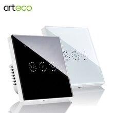 Interruptor inteligente WiFi para persiana enrollable, Control por voz, Compatible con Alexa Eco, Google Home