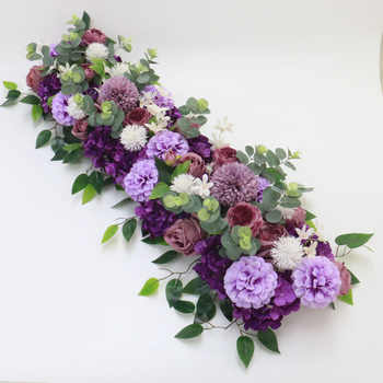Angela flower Artificial & Dried Flowers Purple D