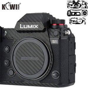 Image 1 - Anti Scratch Camera Body Skin Cover Protector Film for Panasonic Lumix S1 S1R Full Frame Camera 3M Sticker Carbon Fiber Pattern
